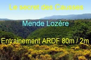 """ARDF : Entrainement """"le secret des causses"""" juillet 2014"""
