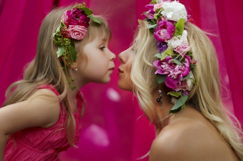 Прически для мамы малыша