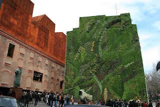 Design giardini verticali for Jardin vertical caixaforum madrid