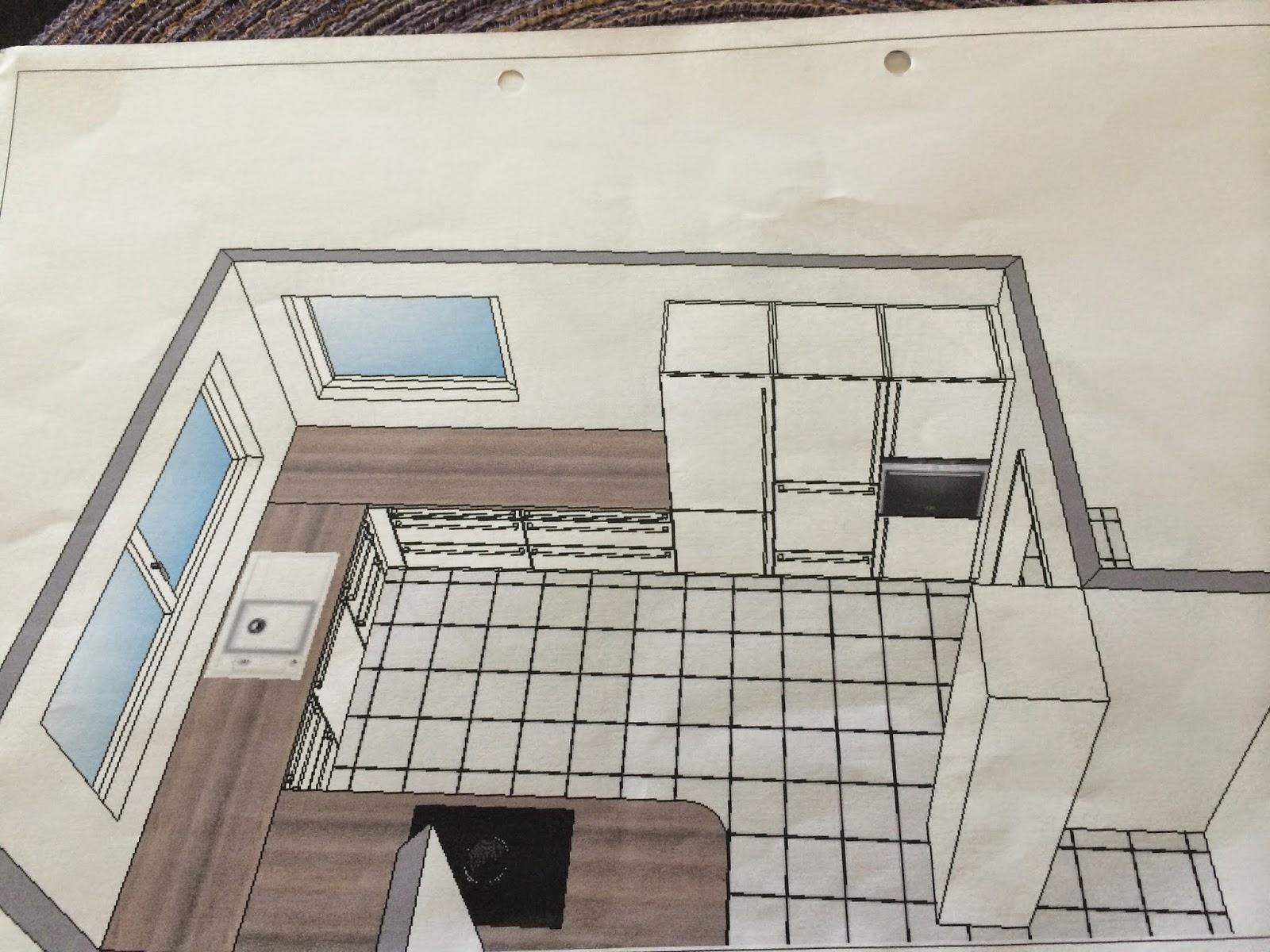 Hausbau mit Streif Küche Innentüren Galabau