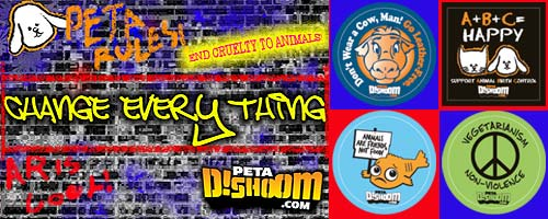 Free Stickers and Info About Helping Animals