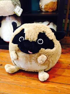 Pug Squishable Plush Pillows Dream in Plastic