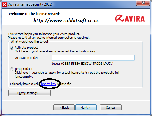How can I get the license file - Avira Answers