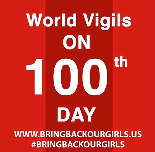 100 Days to Bring Back Our Girls continues