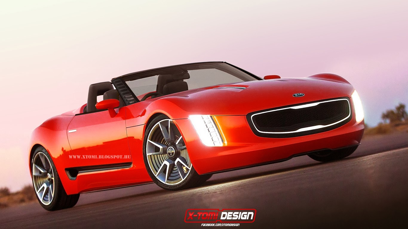 X Tomi Design Kia Gt4 Stinger Cabrio Concept