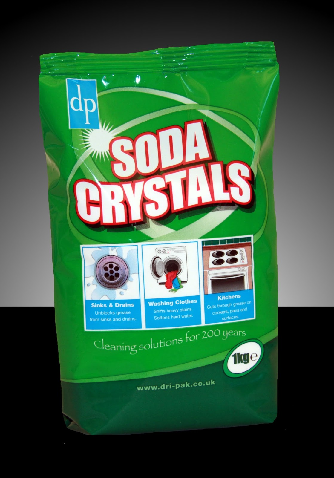 facts about soda crystals dri pak. Black Bedroom Furniture Sets. Home Design Ideas