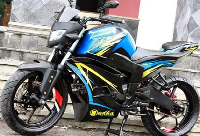 Image Foto Modifikasi Motor Yamaha Byson Simple Tapi Keren Download
