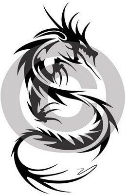 New Tribal Dragon Tattoo Ideas Tribal Dragon And Wolf Tattoo