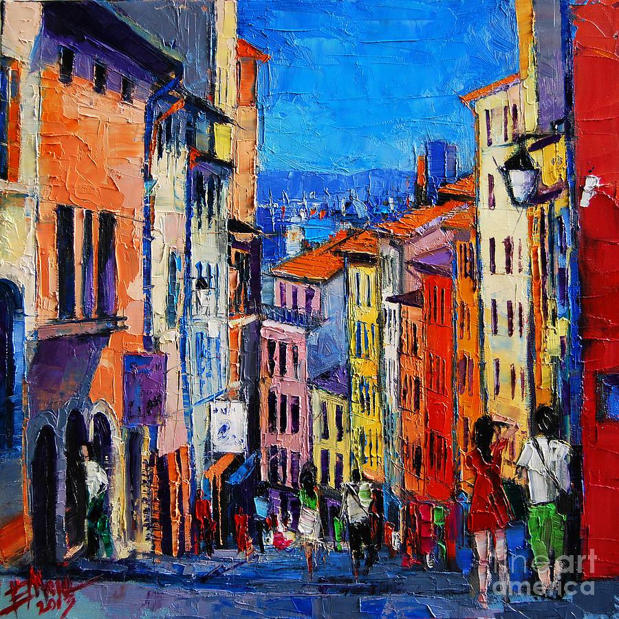 Pinturas Para Decorar Calles