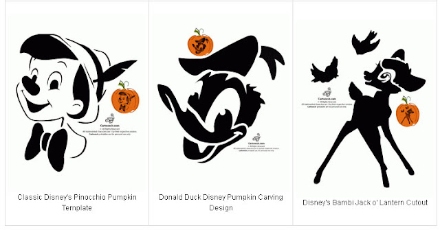 free printable disney pumpkin carving patterns