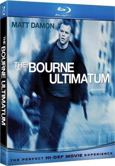 La Trilogia de Bourne 720p HD Español Latino Dual 2012