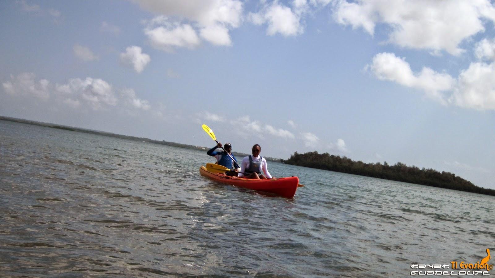ti-evasion kayak