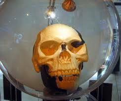 Réplica del cráneo de Piltdown