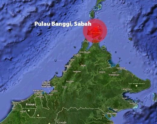 gempa di Pulau Banggi Sabah