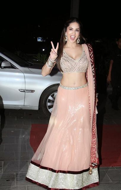 Sunny Leone Stills at Tulsi Kumars Wedding Receptions 2.jpg