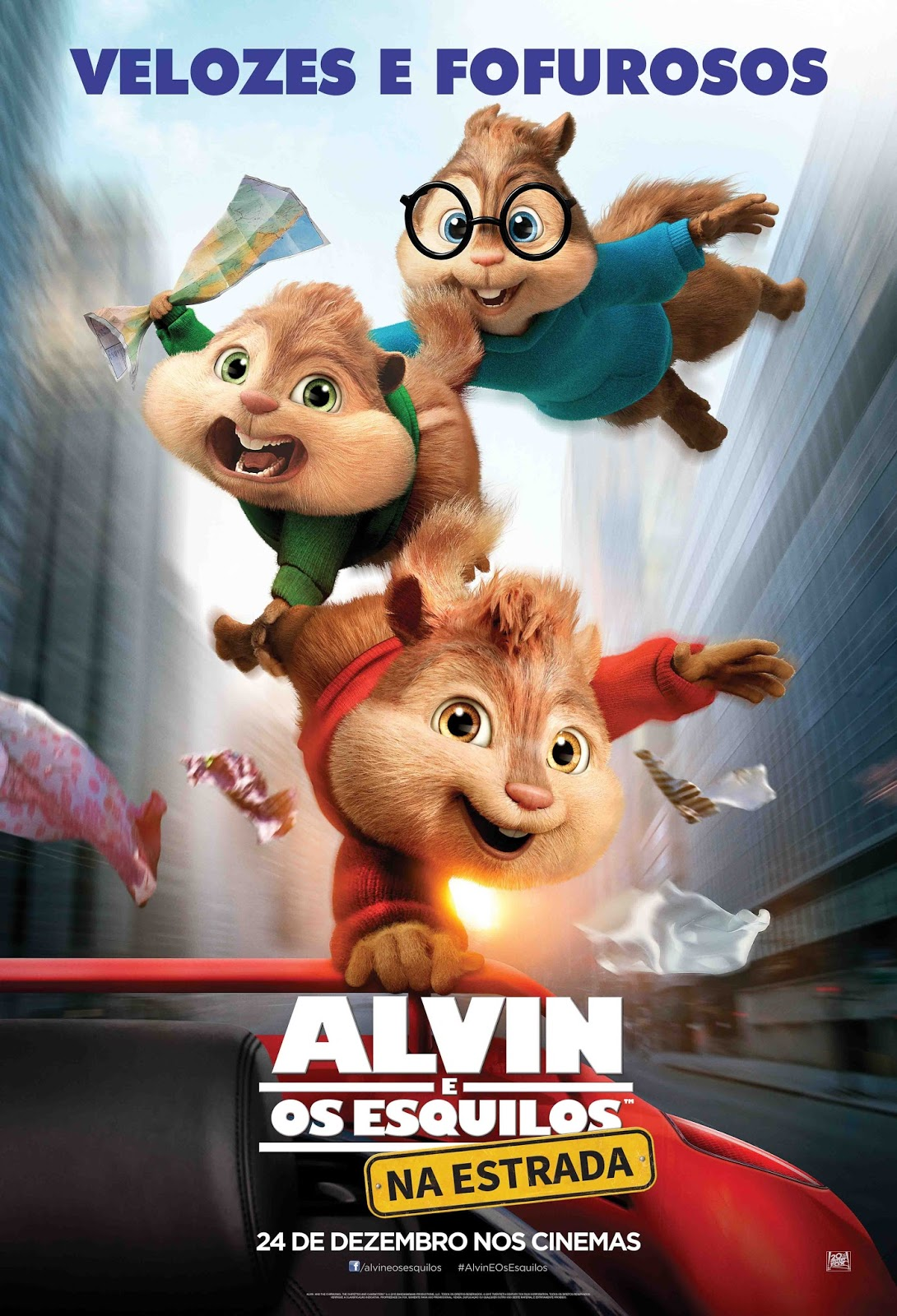Alvin e os Esquilos: Na Estrada Torrent - BluRay 720p/1080p Dual Áudio