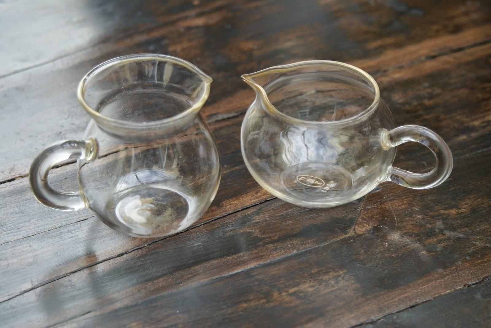 pichet a thé en verre
