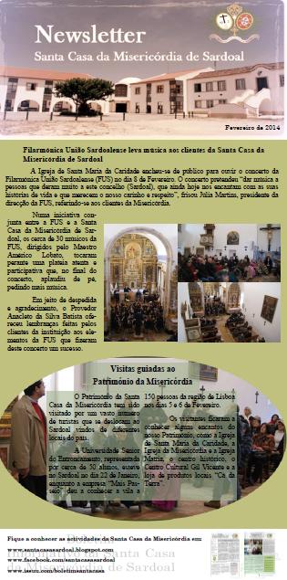 Clique na imagem para aceder à Newsletter III relativa ao mês de Fevereiro de 2014.