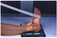 ap stress ankle xray