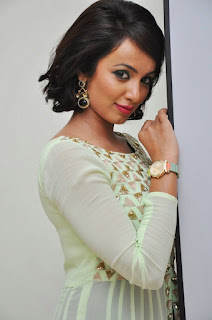 Tejasi Madivada looks Cute innocent and Shy in lovely Anarkali Suit