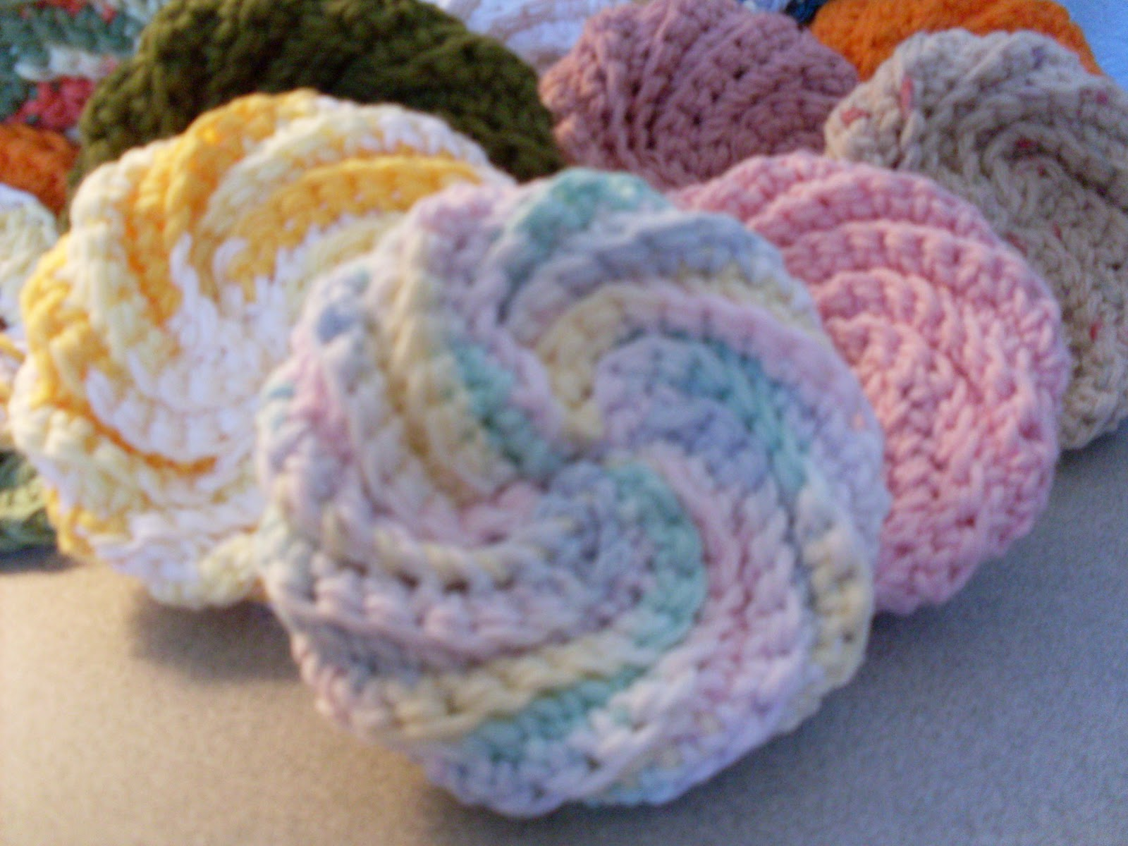 Crochet Dish Scrubbies Pattern Magnificent Inspiration Ideas