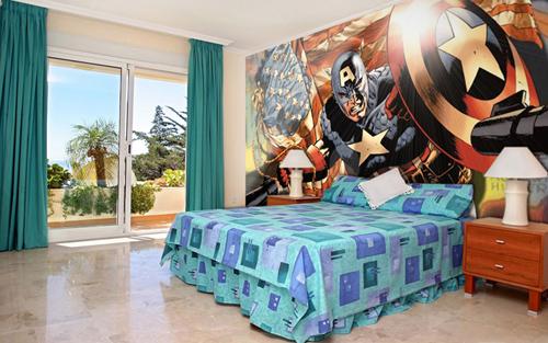 desain kamar tidur minimalis 2016 wallpaper dinding kamar