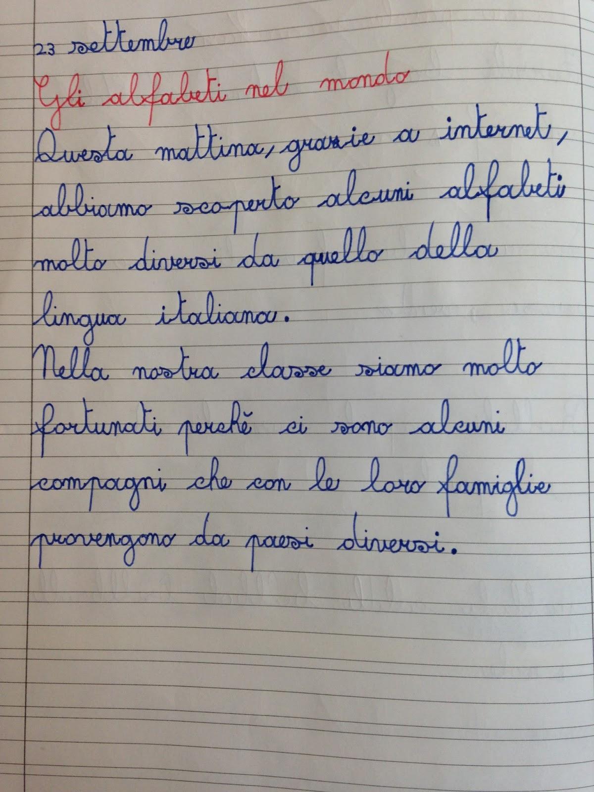 Apedario Alfabeti Nel Mondo E In Classe
