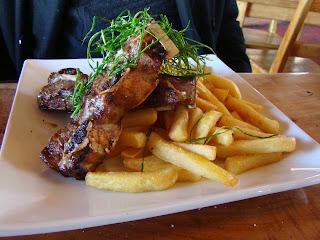 Comida em Farellones - Santiago