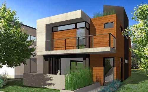 Rosa Beltran Design Stacked Cube Houses In Modern