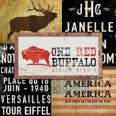 One Red Buffalo Art