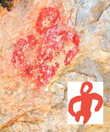 pintura-rupestre-antropomorma