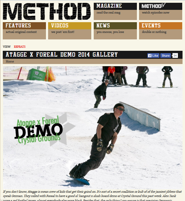 http://www.methodmag.com/content/atagge-x-foreal-demo-2014-gallery