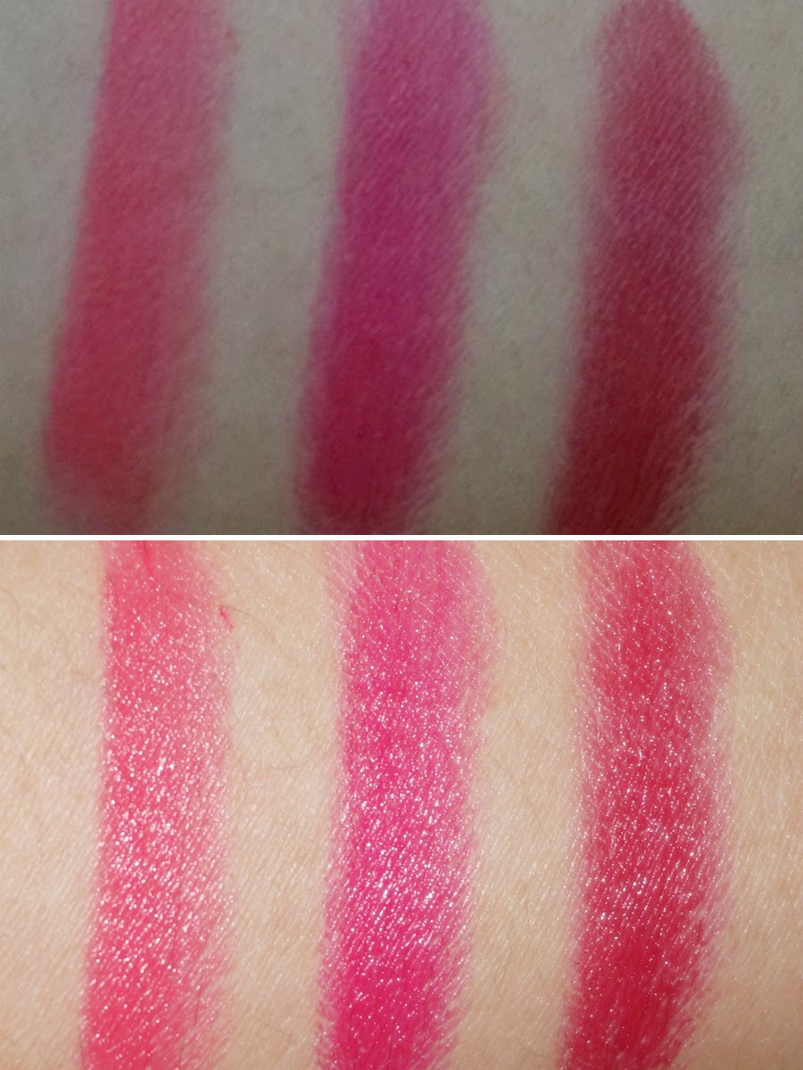 Colour Collection HD Lipstick Swatches