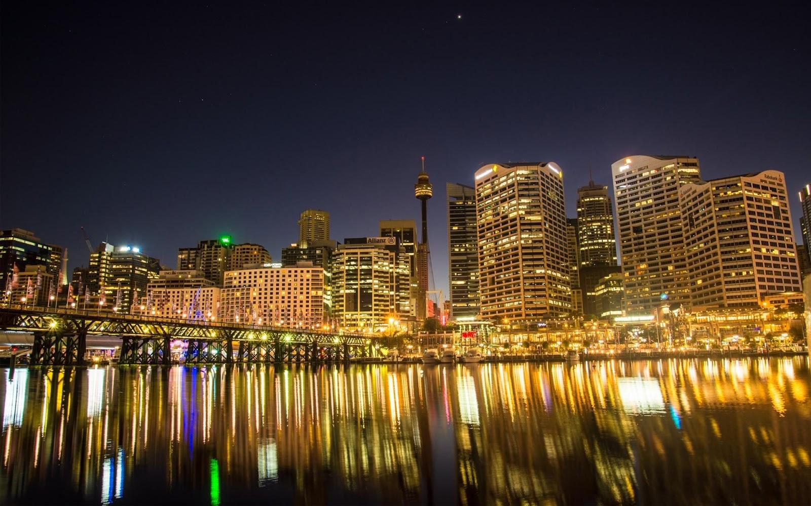 Darling Harbour Sydney Wallpaper HD
