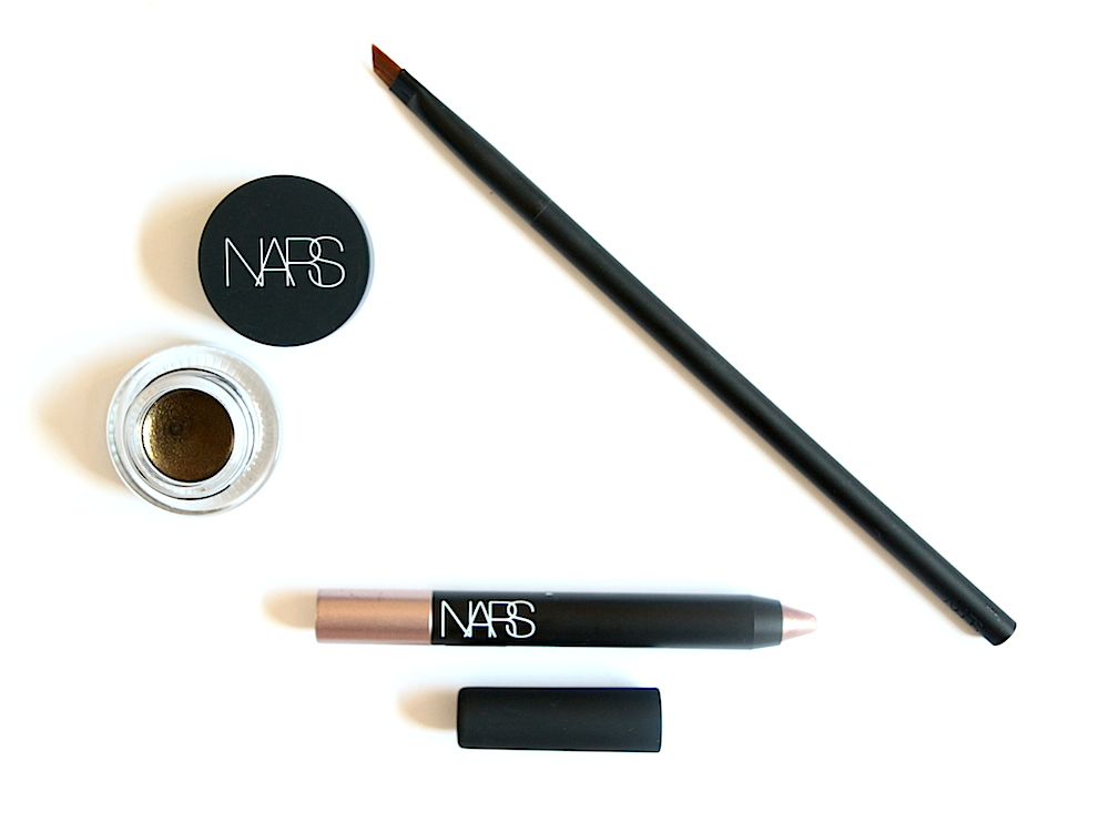 nars eye paint couleur multifonctions yeux baalbek, crayon yeux soft touch shadow iraklion pinceau eyeliner aingled brush eyeliner avis test satch