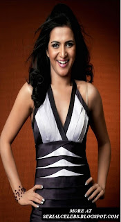 anchor Divya Darshini in sleeveless dress
