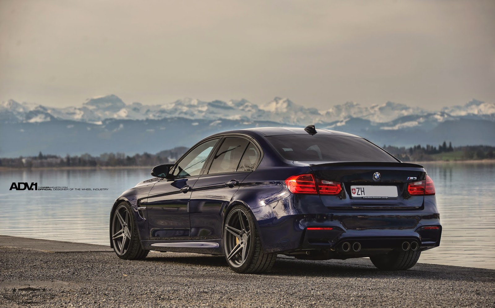 Bmw F80 M3 On Adv05 Mv2 Wheels