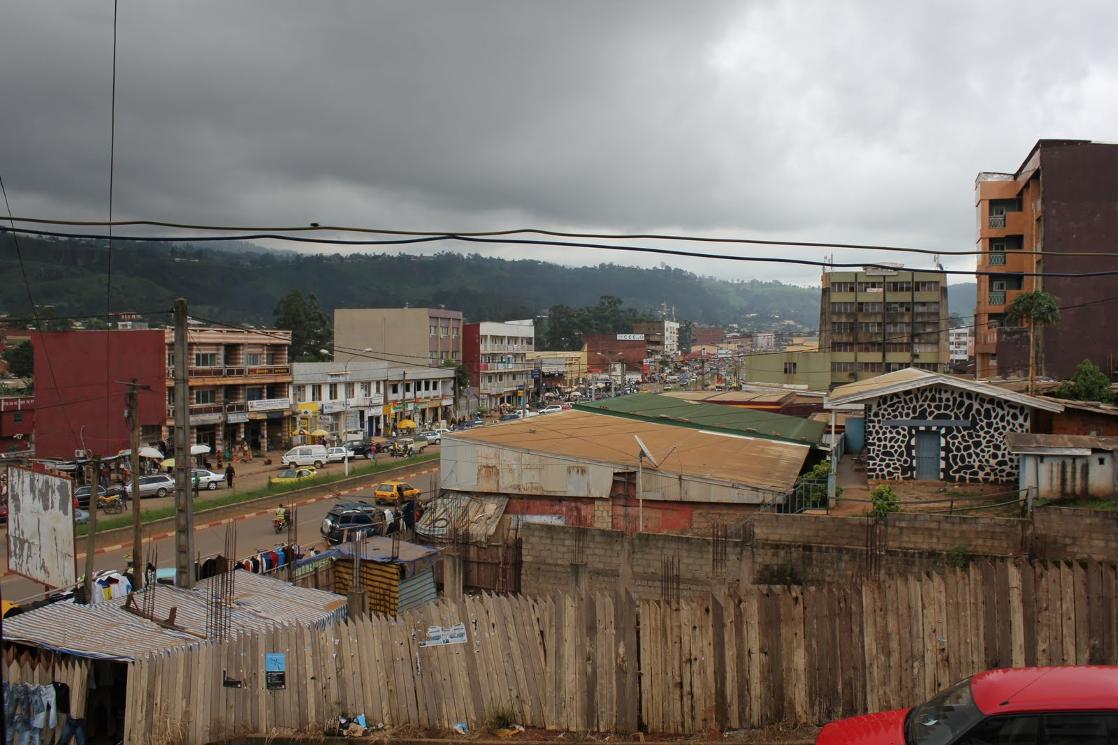 Shopping District of Bamenda
