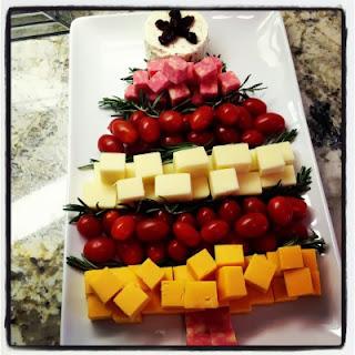 Formando un rbol de navidad con la comida ideas y - Ideas para comida de navidad ...