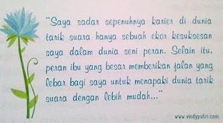 Quote Astrie Ivo - Sepasang Sayap Menuju Surga