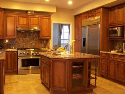 Glazed kitchen cabinets pictures best kitchen places for Glazed kitchen cabinets