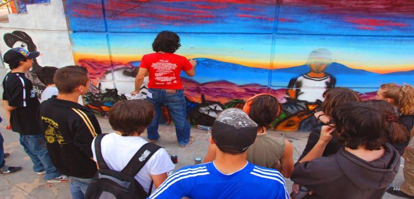 TALLERES DE GRAFFITI EN MÁLAGA