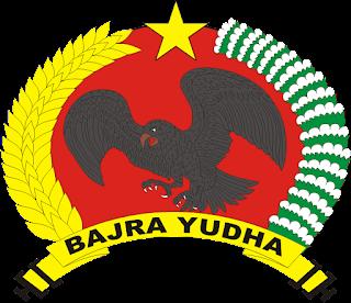 Logo Yonif Linud 501 Bajra Yudha