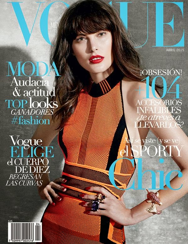 Fashion Model @ Catherine McNeil - Vogue Mexico, April 2015