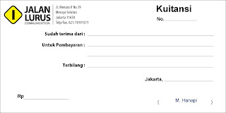 Tutorial Adobe InDesign #2 : Membuat Kuitansi