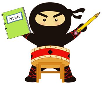 it will be our very own math dojo ninja