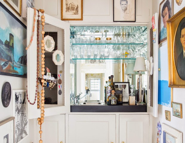 At home with lisa sherry e ron royals e loro casa for Design interni casa moderna