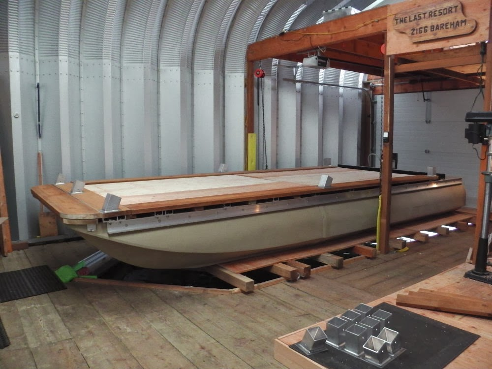 Wilson Pontoons Used For DIY Pontoon Boat