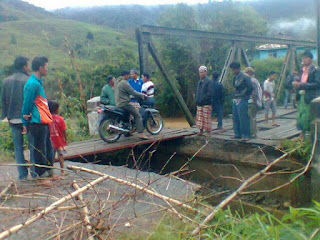 Terjangan arus sungai Meureubo