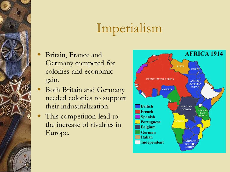 Iowa Part 2 >> Viva Europa!: Characteristics of the Imperialist countries